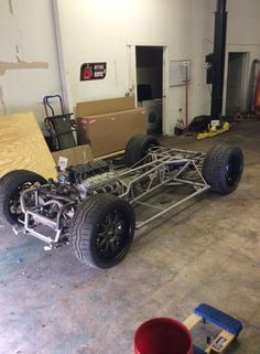 TVR custom tube chassis with Corvette running gear and LS engine