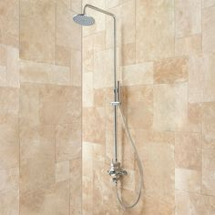 Exira Thermostatic Shower With Hand Shower - Bathroom