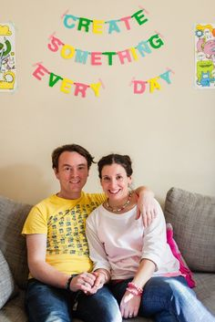 Emily & Stef's Creative, Colorful London Home — House Tour | Apartment Therapy
