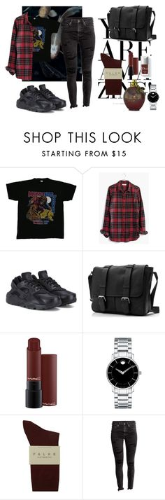 """""""#5"""" by makeemwhistle on Polyvore featuring мода, Madewell, NIKE, Movado и Falke"""