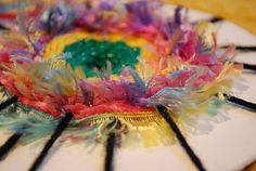 Make It... a Wonderful Life: CD Weaving Tutorial - I wonder if this would work with embroidery thread?