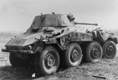 """Sd.Kfz. 234/2 schwerer Panzerspähwagen """"Puma"""""""