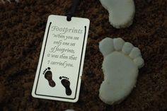 """Footprints in the sand"" karamellkake"