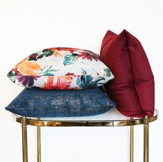 A rich pillow trio that's a fave around the store and with the team right now.  Happy Friday my friends!  #toniclivingpillows  #mytonicliving