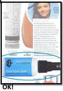 In the media | Custom Tan