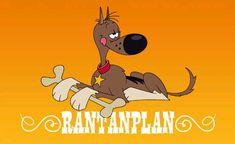 Rantanplan, Lucky Luke's dog -   From a French cartoon serie