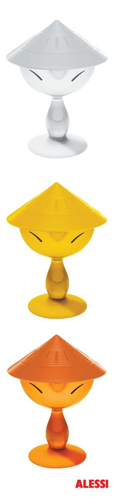 Mandarin - citrus squeezer, Stefano Giovannoni, 2001 #alessi #design  #alessibreakfast