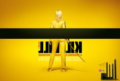 """Iconic movie posters from different angle : Kill Bill - """"Home theater 3D sound LG.  Every side of the sound.""""- advertising by agency Y Sao Paulo, Brazil, March 2012"""