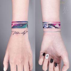 Torso Tattoos, Mini Tattoos, Hand Tattoos For Guys, Tattoo Girls, Tattoos Pulseras, Arm Tattoos Color, Tattoo Ideas, Tattoo Designs, Underboob Tattoo