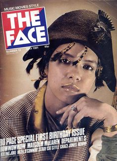 Annabella Lwin, Bow Wow Wow 1981 The Face...couldn't live without it.
