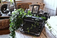 Creating photo displays with old relics from the past, via Funky Junk Interiors,. - New Ideas