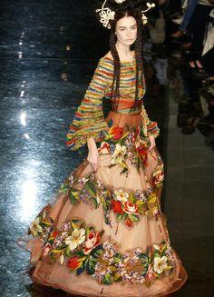 "hautekills: "" Jean Paul Gaultier haute couture f/w 2005 """
