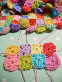 tangled happy: Joining With An Invisible Stitch