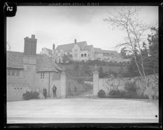 This photo was taken the day after the mysterious murders at Greystone Mansion.