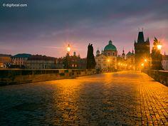 Christmas Dawn    Prague, Czech Republic  December 2012