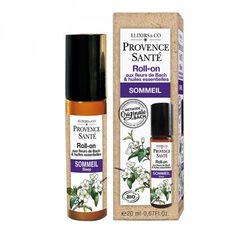 Roll-on Sommeil Bio Provence Santé Mademoiselle Bio, Elixir Floral, Plexus Solaire, Agriculture Biologique, Shampoo, Personal Care, Drinks, Bottle, Bach Flowers
