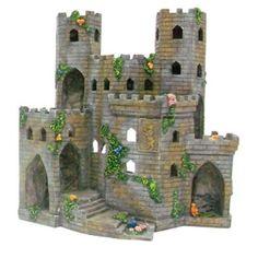 Penn Plax Medieval Castle of England - Large
