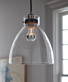 """the West Elm Industrial Pendant is $99. Says Rolston: """"This pendant is handsome -- a timeless industrial design. It would look good on its own over a dining table, but it could also be placed in rows over a big kitchen counter or bartop. Any kind of pendant always looks good repeated. The bulb isn't included with this piece so you'd have to find it at a place like Light Bulbs Unlimited (which has three locations in L.A.). But it's worth the extra effort."""""""