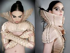 Fashion and Sculpture.