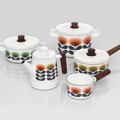 Orla Kiely Pots & Pans Very 60's