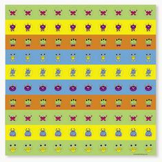 Mini Monster Sticker Sheet :  You will love these mini stickers - There are 100 stickers on each sheet!
