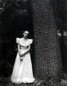 Graduation Dress - Next to a Sequoia by Ansel Adams
