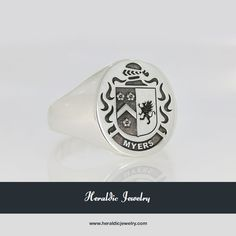 Myers family crest jewelry
