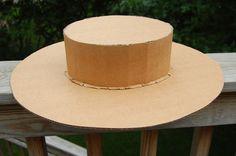 DIY Cardboard Hat Tutorial - Juliette Gordon Low hat!