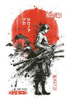 Zoro One Piece, One Piece Comic, One Piece Fanart, One Piece Tattoos, One Piece Wallpaper Iphone, Samurai Artwork, Arte Tribal, One Piece Drawing, Manga Anime One Piece