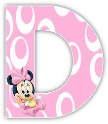 Alfabeto de Minnie Bebe con fondo rosa. Minnie Mouse Baby Shower, Minnie Mouse Party, Mouse Parties, Scrapbook Letters, Baby Scrapbook, Minnie Png, Mickey Minnie Mouse, Imprimibles Baby Shower, Minnie Mouse Pictures