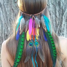 Rainbow feather headbands! Link to my shop in my bio.  #love #beautiful #beauty #halloween #boho #bohemian #goodvibes #gypsy #fashionblogger #festival #tribalfusion  #tribal #edm #Burningman #fantasy #instagood  #tomorrowland #hardsummer #fashion #style #feather_perfection #rainbow #hippie #hipster #grunge #forest #costume  #highsociety #wanderlust  #featherheadband