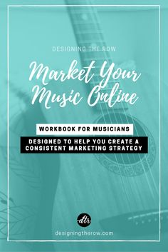 Market Your Music Online: Workbook for Musicians Learn Singing, Singing Lessons, Sell Music, Your Music, Marketing, Singing Career, Artist Management, Management Tips, Music Online