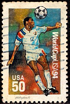 USA.  1994 World Cup Soccer Championship.  Scott 2836 A2164, Issued  1994 May 26, Perf. 11.1, Photo., 50c. /ldb.