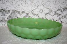 Fire King Jadeite Fancy Bubble Bowl by UdellLane on Etsy