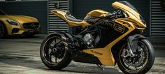 The Mercedes-Benz AMG x MV Agusta F3 800 Motorcycle - the lovechild of two racing greats