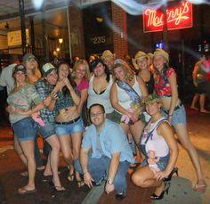 Corrine's Redneck/Trailer Trash Pubcrawl Bash Decor, Party favors, Costumes