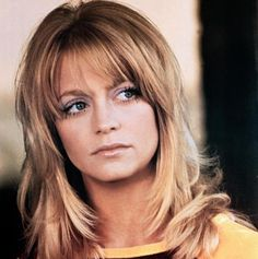 Vintage Hairstyles With Bangs Goldie Hawn - Vintage Hairstyles, Hairstyles With Bangs, Cool Hairstyles, Hairdos, Goldie Hawn Young, Goldie Hawn Kurt Russell, Hair Icon, Julie Christie, Actrices Hollywood