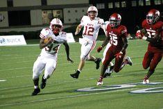Katy Edges Galena Park North Shore in Opening Clash Texas High School Football, Steve Thomas, Defensive Back, University Of Houston, Tight End, Wide Receiver, Running Back, North Shore, Football Helmets