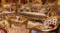Bedroom Furniture For Sale, Sunroom Furniture, King Furniture, Royal Furniture, Classic Furniture, Luxury Furniture, Furniture Design, Victorian Sofa, Victorian Furniture