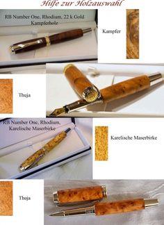 Holzdesign RB - Schreibgeräte im eigenen Design