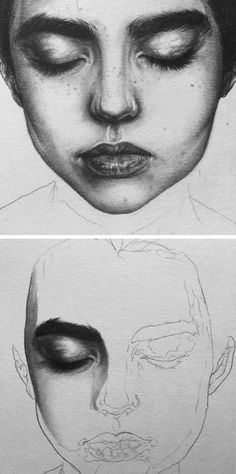 Amazing pencil portrait