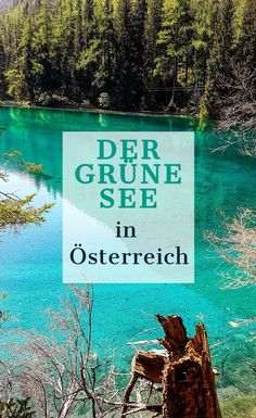 Grüner See - The most beautiful lake & excursion tip for Styria! - The Green Lake – The most beautiful place in Styria - Road Trip Hacks, Camping Hacks, Travel Hacks, Acevedo, Camping Photography, Digital Photography, Family Photography, Green Lake, Winter Camping