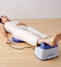 "Our Healthy Circulation Machine provides a simple exercise without applying any stress on the spine or other body parts. It uses the pattern of ""gentle infinity"" (perfect figure 8's) to stimulate circulation and energy flow while helping to release tension. The gentle side-to-side rocking motion maintains a proper ""chi"" balance and oxygen supply to the body."