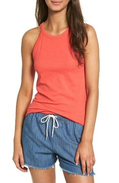 Madewell High Neck Tank | Nordstrom