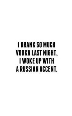 #drank #vodka
