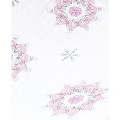 """Aden + Anais """"For the Birds"""" medallions print swaddle"""