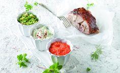 Οι νόστιμες πινελιές που θα απογειώσουν το πασχαλινό τραπέζι - www.olivemagazine.gr Sliders, Dips, Beef, Chicken, Recipes, Christmas Decorations, Food, Meat, Sauces