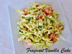 Fragrant Vanilla Cake: Summer Cabbage Corn Slaw