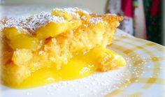 Food recipes: Warm Lemon Pudding Cake