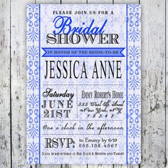 Kitchen Bridal Shower Invitation Printable by BigDayInvitations
